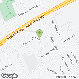 Map of Neil Chadwick in Whitefield, Manchester, lancashire
