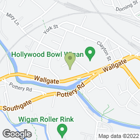 Map of Gordons Ford Of Wigan in Wigan, lancashire
