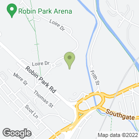 Map of ASDA Stores Ltd in Wigan, lancashire