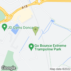 Map of Dunelm Mill in Doncaster, south yorkshire