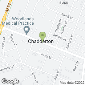 Map of UK Musical Instruments Ltd in Chadderton, Oldham, lancashire