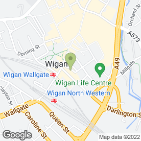Map of Bond Personnel Ltd in Wigan, lancashire