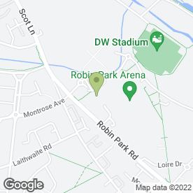 Map of Empire Cinemas in Wigan, lancashire