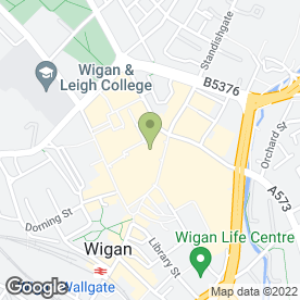 Map of Toni&Guy in Wigan, lancashire