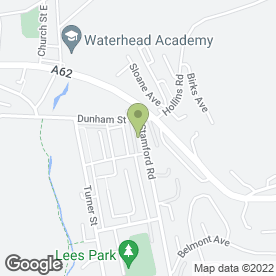 Map of L's Angel School of Motoring in Lees, Oldham, lancashire