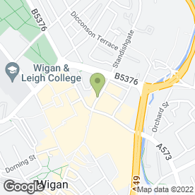 Map of McDonald's Restaurants Ltd in Wigan, lancashire