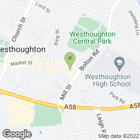 Map of Love to Sew in Westhoughton, Bolton, lancashire
