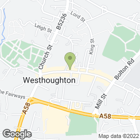 Map of Fultons Foods in Westhoughton, Bolton, lancashire