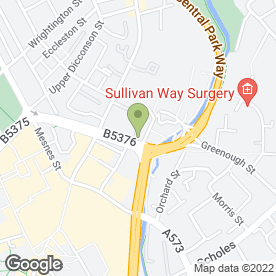 Map of Rileys Sports Bar in Wigan, lancashire