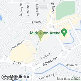 Map of iPhone Repairs Manchester in Middleton, Manchester, lancashire