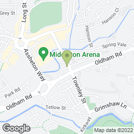 Map of Cavity Tie (UK) Ltd in Middleton, Manchester, lancashire