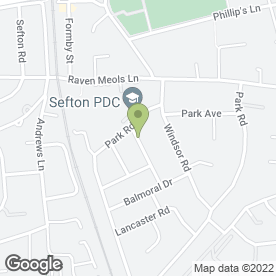 Map of Shampooch in Formby, Liverpool, merseyside