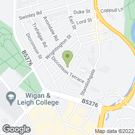 Map of Borron Shaw Commercial in Wigan, lancashire