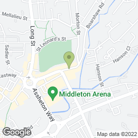 Map of John's Bikes in Middleton, Manchester, lancashire