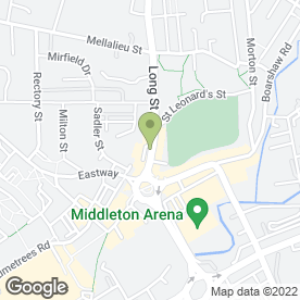 Map of William's Afro Caribbean in Middleton, Manchester, lancashire