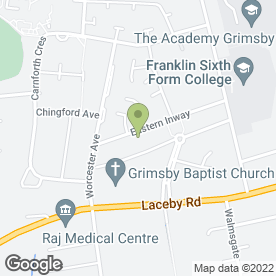 Map of K L Electronics in GRIMSBY, south humberside