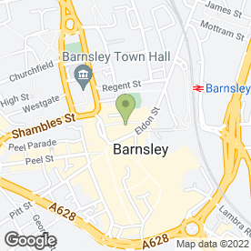 Map of Britannia Cafe & Caterers in Barnsley, south yorkshire