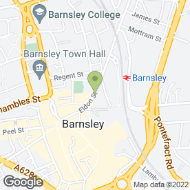 Map of LESLIE FRANCES in Barnsley, south yorkshire