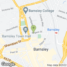 Map of UNISON in Barnsley, south yorkshire