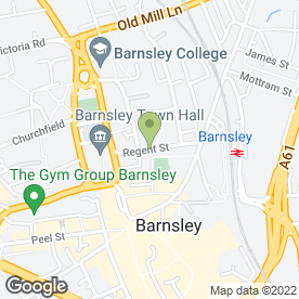 Map of Raleys Solicitors in Barnsley