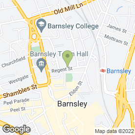 Map of SIMON BLYTH LETTINGS in Barnsley, south yorkshire