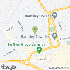Map of Platinum Portfolio Builder Ltd in Barnsley, south yorkshire