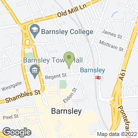 Map of Bury & Walkers LLP in Barnsley, south yorkshire
