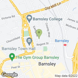 Map of Upton & Co in Barnsley, south yorkshire