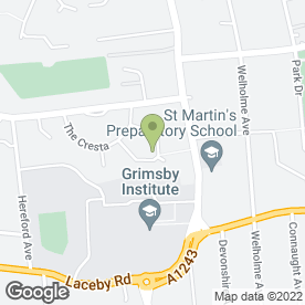 Map of Birchwood Building & Joinery in Grimsby, south humberside