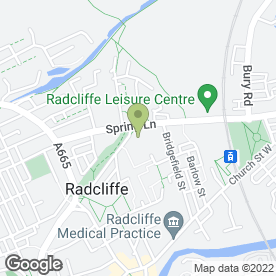Map of Tradein1 in Radcliffe, Manchester, lancashire