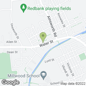 Map of Sew Sew Alterations & Repair Services in Radcliffe, Manchester, lancashire