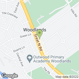 Map of Salon Chique in Woodlands, Doncaster, south yorkshire