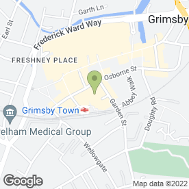 Map of ATTIC SPA in Grimsby, south humberside