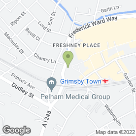 Map of The St. James Hotel - Corus Hotels Grimsby in Grimsby, south humberside