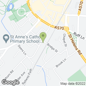 Map of National Tyres and Autocare in Ormskirk, lancashire