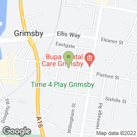 Map of Ruby Chinese in Grimsby, south humberside