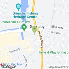 Map of Beeline Taxis in Grimsby, south humberside