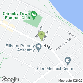 Map of GWS Accounts Ltd in Cleethorpes, south humberside