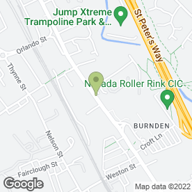 Map of Rosehill Nursery in Burnden Retail Area, Bolton, lancashire