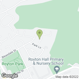 Map of James Maguire in Royton, Oldham, lancashire