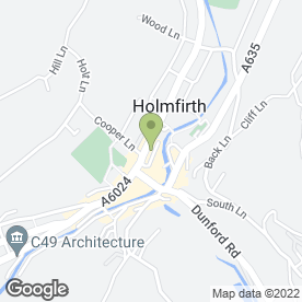 Map of The Hair Dresser in Holmfirth, west yorkshire