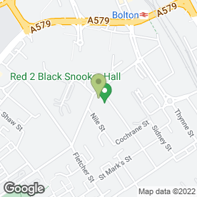 Map of Peugeot - Perrys - Bolton in Bolton, lancashire