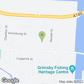 Map of Peugeot - Hartwell - Grimsby in Grimsby, south humberside