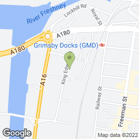 Map of Car Services (Grimsby) Ltd in Grimsby, south humberside