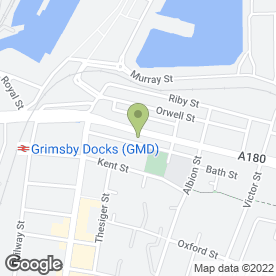 Map of Auto Body Panels in Grimsby, south humberside