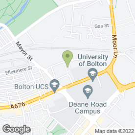 Map of Perfect Plasterers in Bolton, lancashire
