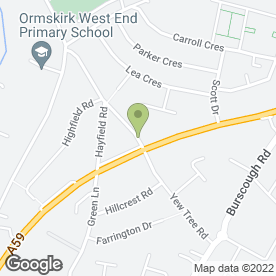 Map of Propend Heating & Plumbing in Ormskirk, lancashire