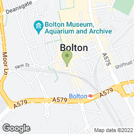 Map of Aults of Bolton Ltd in Bolton, lancashire