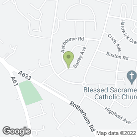 Map of DPA Alarms in Barnsley, south yorkshire
