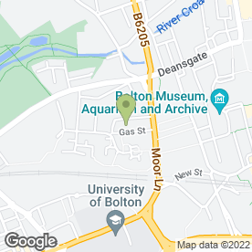 Map of Propel Acting Course - Part Time Professional Actor Training in Bolton, lancashire